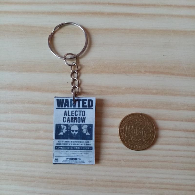 Sleutelhanger Harry Potter Poster 'Wanted'