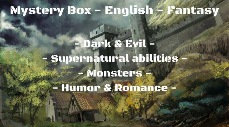 Mystery Box Juni - English - Fantasy