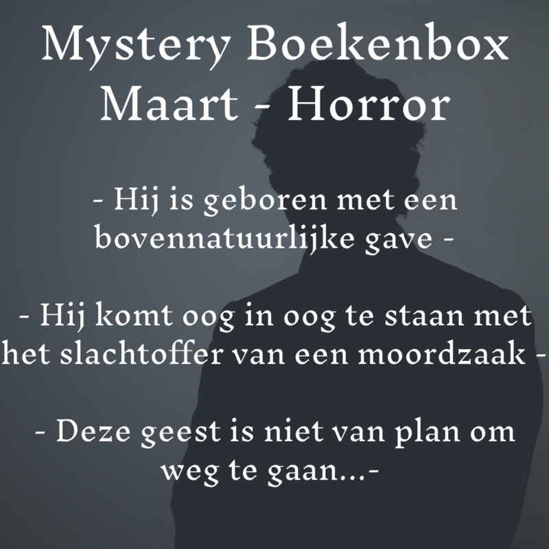 Mystery Boekenbox Maart - Horror