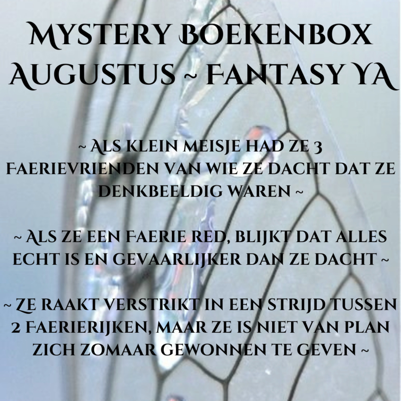 Mystery Boekenbox Augustus - Fantasy YA
