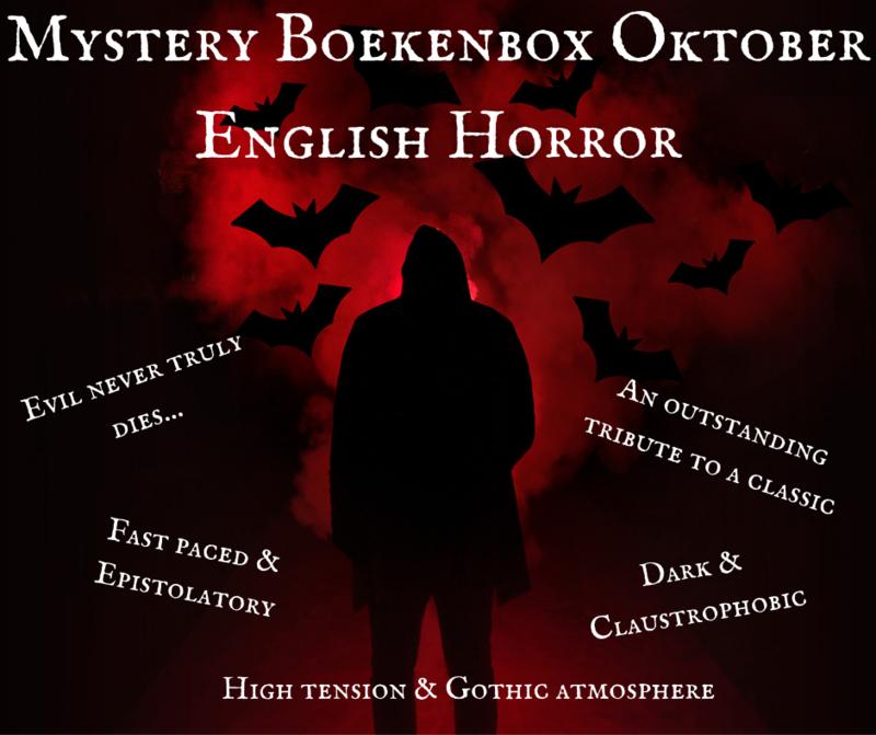 PRE-ORDER: Mystery Boekenbox Oktober - English Horror