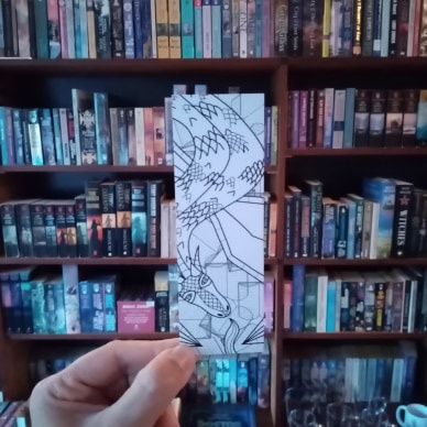 AnderWereld Boekenlegger - Dragon