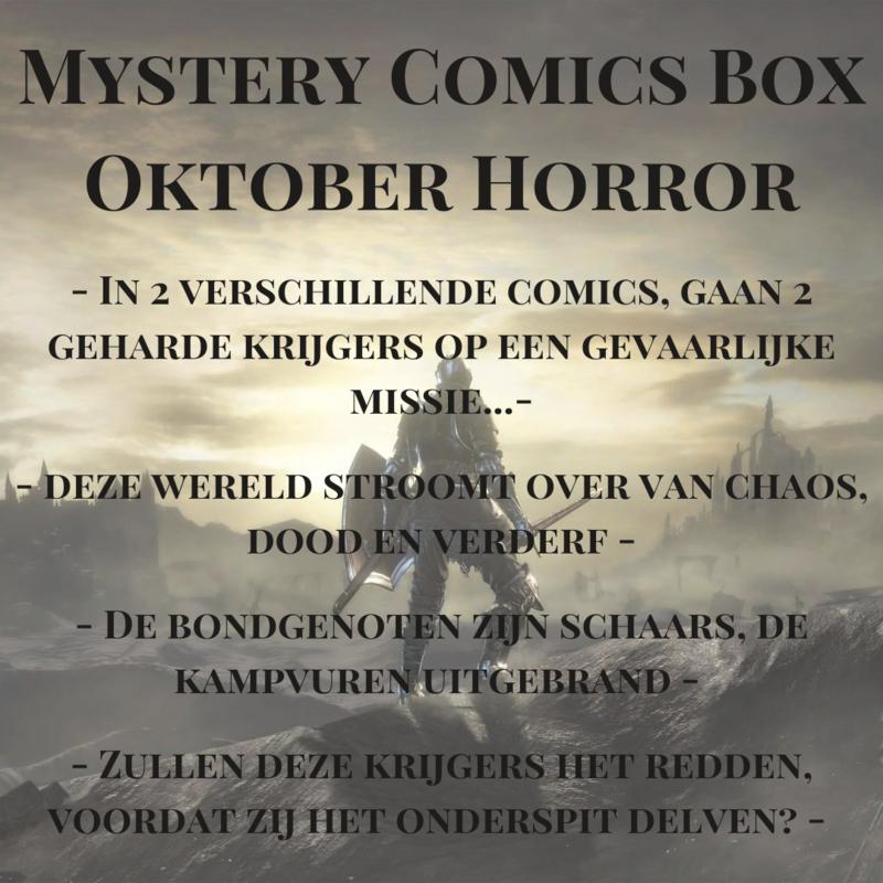 Mystery Comics Box Oktober - Horror * PRIMEUR STUNT!