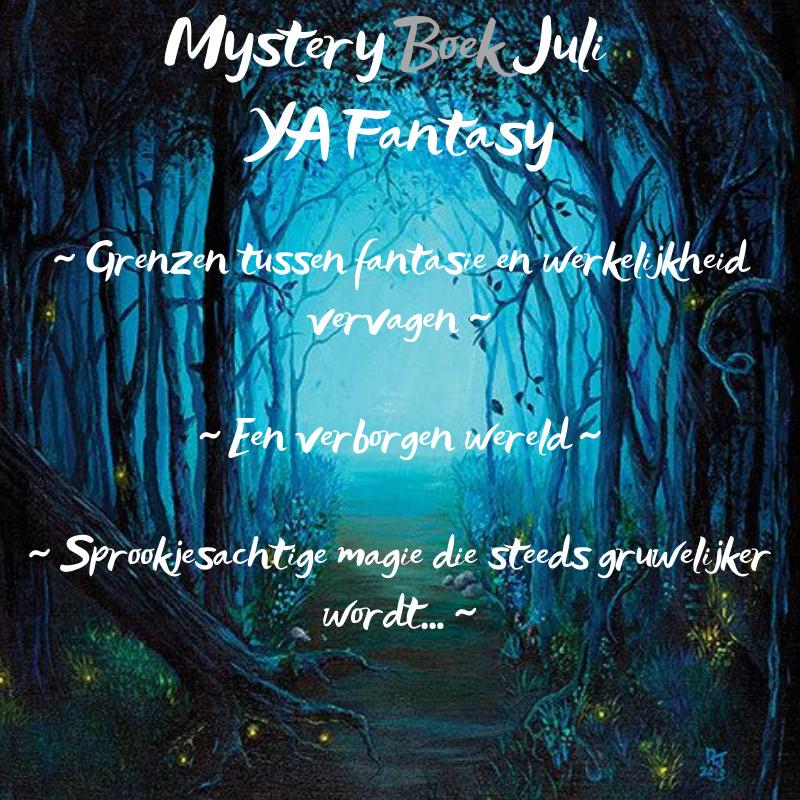 Mystery Boek Juli ~ YA Fantasy