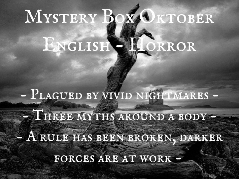 Mystery Box Oktober - English - Horror