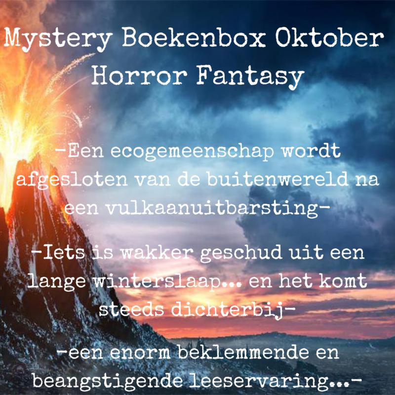 Mystery Boekenbox Oktober - Horror Fantasy