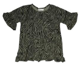 Roes t-shirt tijger groen