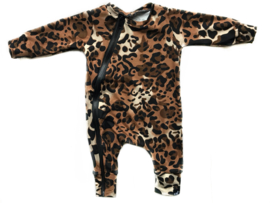 Onesie panter brown
