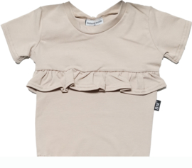 Sand roes lijfje t-shirt