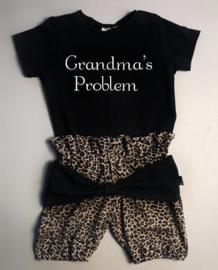 Grandma's problem/ panter bruin strik bloomer