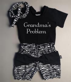 Grandma's problem/ zebra strik bloomer