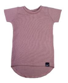 Mini knit roze t-shirt