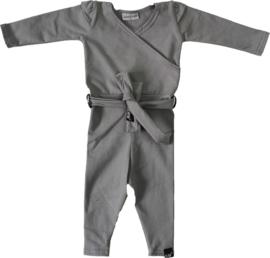 Licht grijs jumpsuit