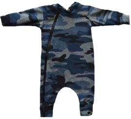 Camo blue onesie