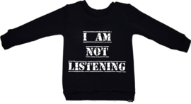 Listening sweater