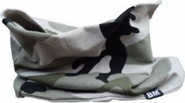 Camo green scarf