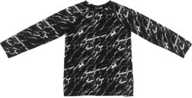 Marble raglan shirt