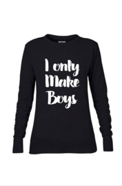 I only make boys sweater