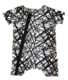 Only tshirt / korte mouwen onesie