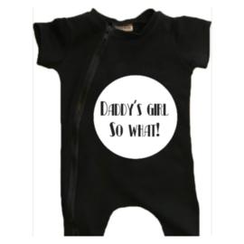 Daddy's girl t-shirt/ short onesie