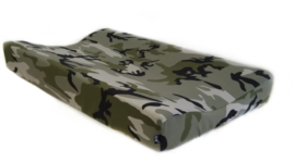 Camo green chaning pad cover