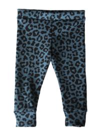 Panter blauw legging