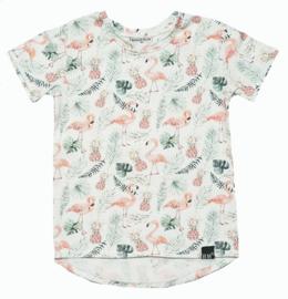 Flamingo long t-shirt