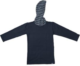 Black with stripes longshirt
