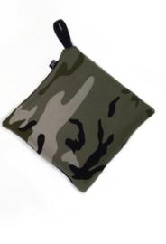 Camo Green pacifier cloth
