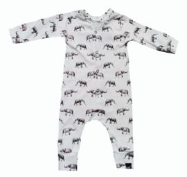 Olifant onesie (drukkers)