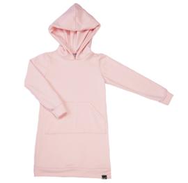 Roze hoodie jurk