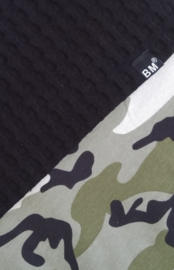 Boxblanket black/ camo green