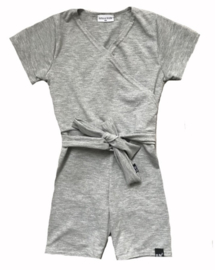 Grey short jumpsuit