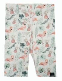 Flamingo korte legging