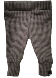 Baby knit taupe broek