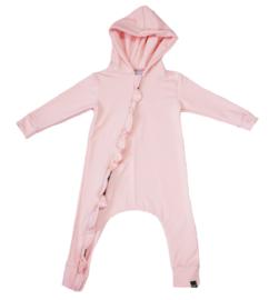 Roze roes onesie