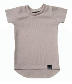Mini knit beige tshirt