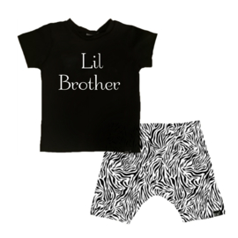 Lil brother/ tijger wit korte baggy