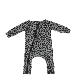 Panter grijs onesie (zonder capuchon)