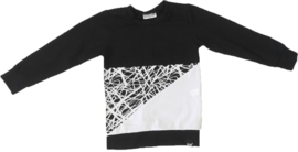 Only/wit/zwart sweatshirt