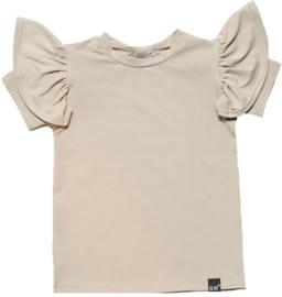 Sand vleugel t-shirt