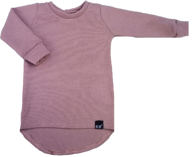 Mini knit roze shirt