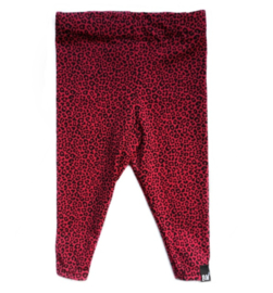 Panter rood legging
