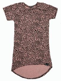 Mini maxi panter roze korte mouw
