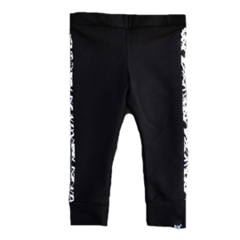 Black with side only pants