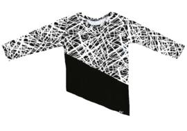 Only/zwart lang shirt