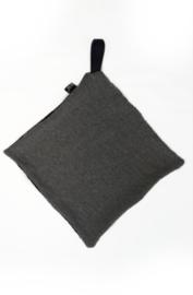 Grey pacifier cloth