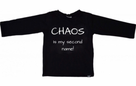 Black chaos shirt