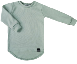 Mini knit mint groen shirt