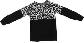 Half panter grijs/zwart shirt